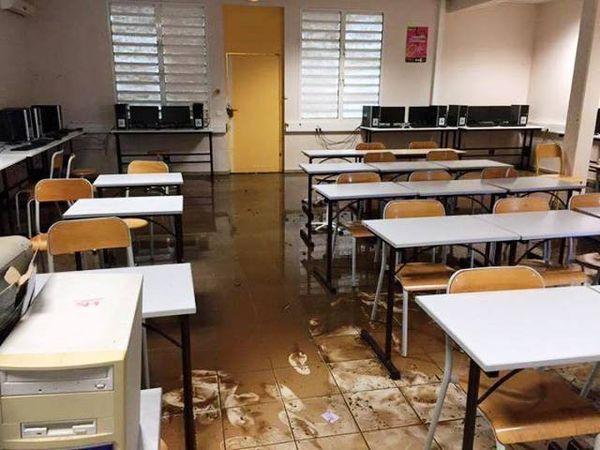 collège de ua pou inondé
