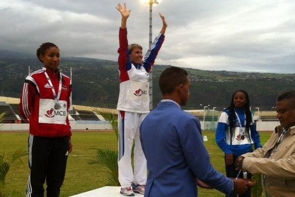 JIOI 2015 podium Peggy Lopez