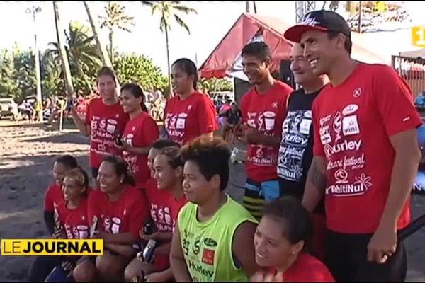 Rautirare Festival : le beach soccer au féminin