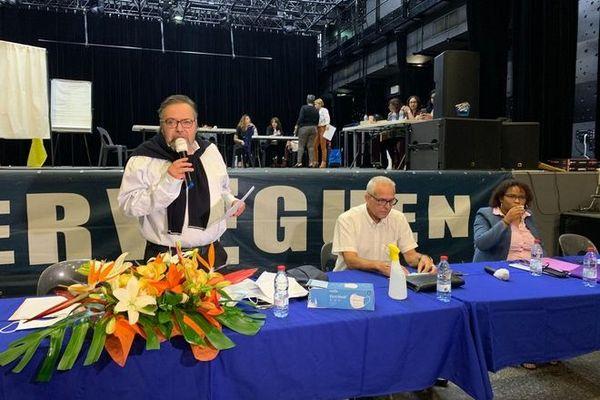 Civis Michel fontaine réélu président de la civis 150720