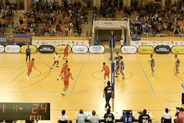 Oceania de volley, demie-finale hommes Calédonie - Fidji du 17 août 2018