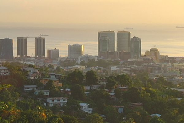 Port-of-Pain à Trinidad