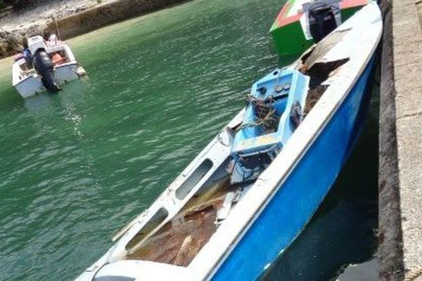 Le bateau du malheureux pêcheur