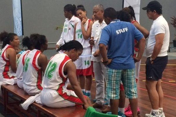JIOI 2015 Basket féminin Madagascar
