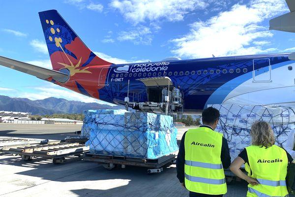 Premier vol cargo hebdomadaire entre la Calédonie et la Nouvelle-Zélande, 24 juin 2021