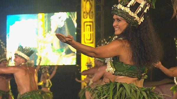Tahiti Tia mai coup d'envoi