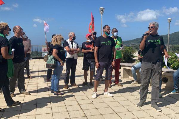 Morne-Rouge : manifestation contre plan chlordecone 4