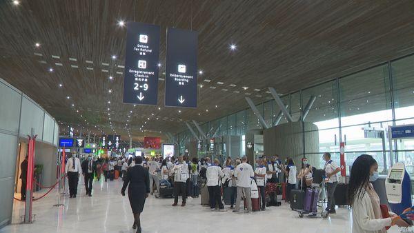 renfort sanitaire aéroport paris