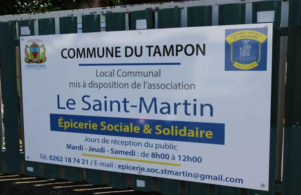 Epicerie Le Saint Martin panneau