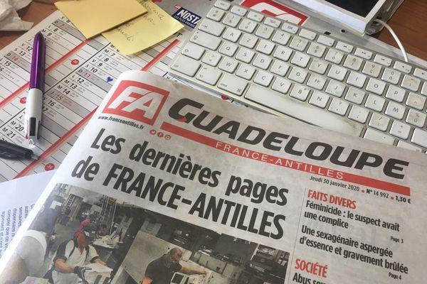 PUBLICATION FRANCE ANTILLES 30 JANVIER 2020
