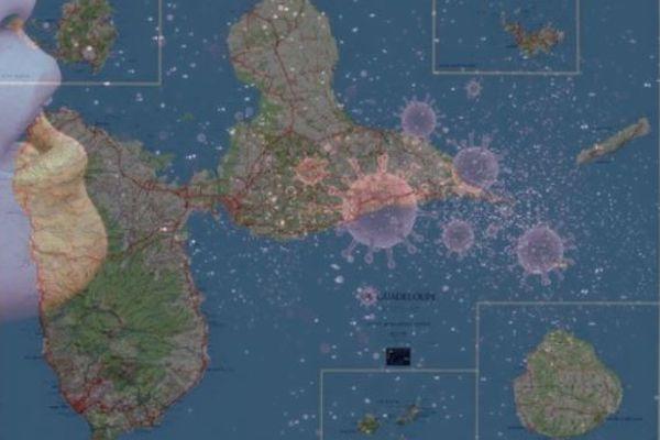 La Guadeloupe contaminée par la Covid 19