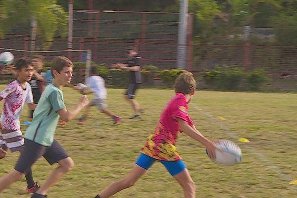 Un stage de détection pour une cinquantaine de rugbymen en herbe