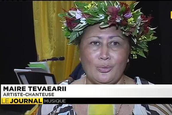 Maïre Tavaearii  fête 40 ans de carrière