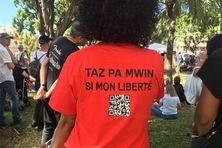 Manifestation anti Pass et vaccin samedi 24 juillet 2021 Préfecture Saint-Denis