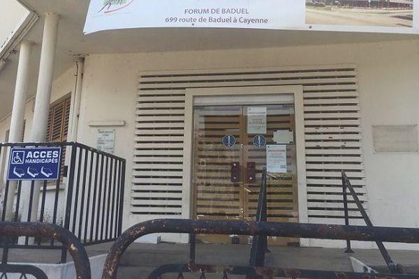 Les anciens locaux de la CGSS de Guyane à Cayenne