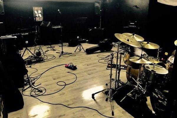 Studio de répétition de musique Studiotic Chaudron Saint-Denis