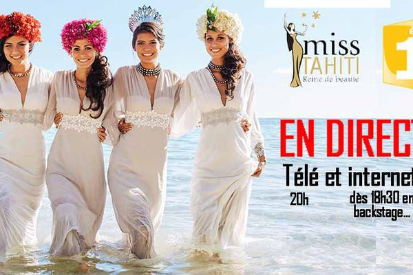 Miss Tahiti 2016 en direct