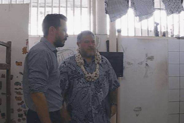 Moetai Brotherson visite Nuutania et Tatutu