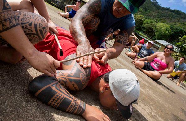 Répétition tatouage