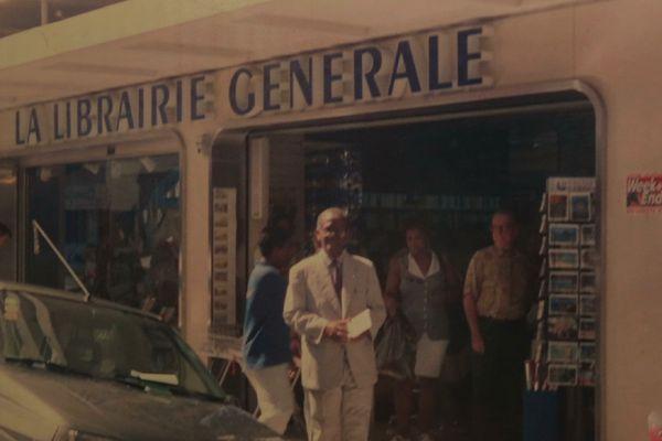 Hubert Jasor la Librairie générale - Guadeloupe vos photos notre histoire
