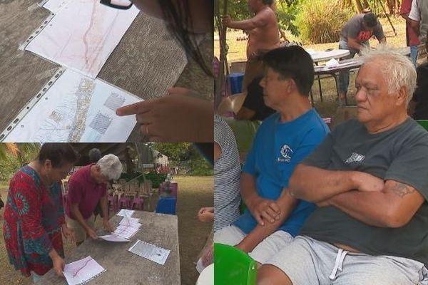 """Projet """"Route du Sud"""" : réunion avec les riverains expropriés de Paea"""