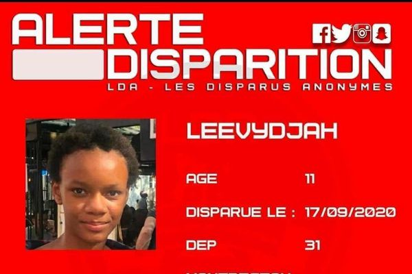 Disparition Leevydjah
