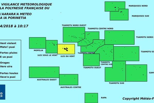 Vigilance jaune aux IDV