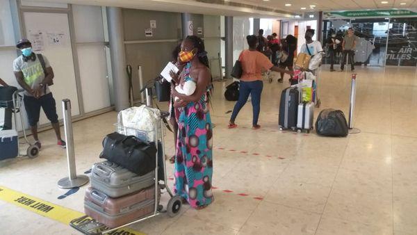 Les passagers d'Air Guyane