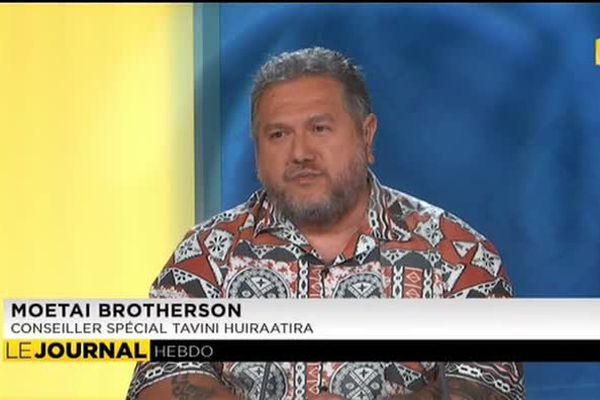 """Moetaï Brotherson : """"nous avons bon espoir d'obtenir les 500 signatures"""""""
