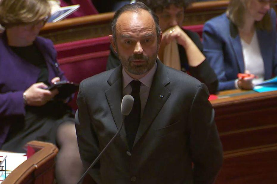 """Edouard Philippe : une """"très grande instabilité peut s'installer"""" en Nouvelle-Calédonie [SENAT] - Outre-mer la 1ère"""