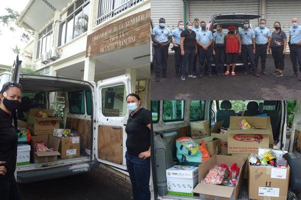 Le calendrier de l'Avent Solidaire : une opération caritative organisée par la gendarmerie de Polynésie française