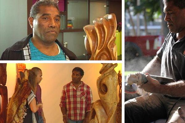 Célestin Kapoa Tiaou, sculpteur et patriarche d'une famille de sculpteurs