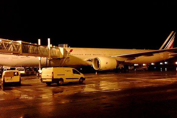 Avion AirFrance  au sol