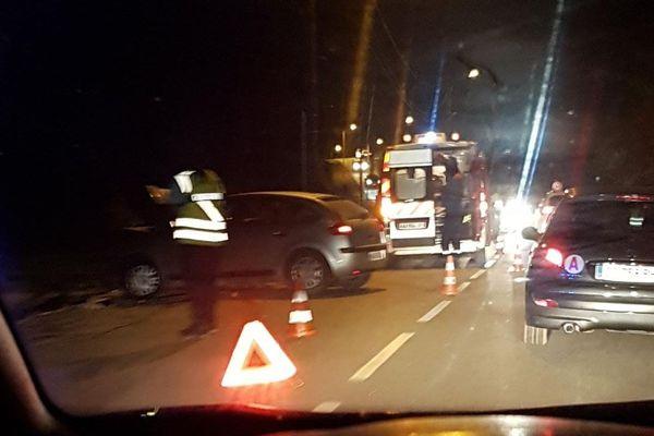 Image d'accident prise d'un véhicule