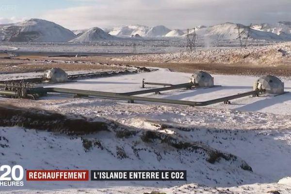 Machine à dépolluer en Islande