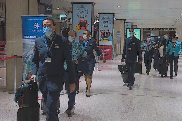 Le personnel d'Air Tahiti Nui prêt à reprendre du service dès le 1er mai