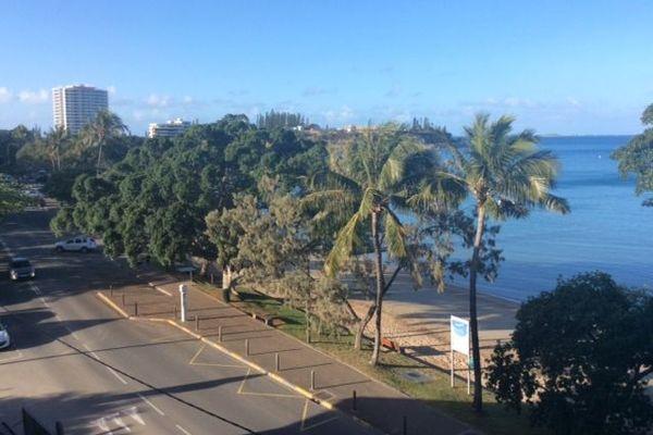 Baie des Citrons vue de l'hôtel Beaurivage