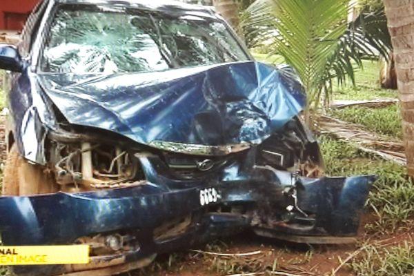 voiture volée accidentée
