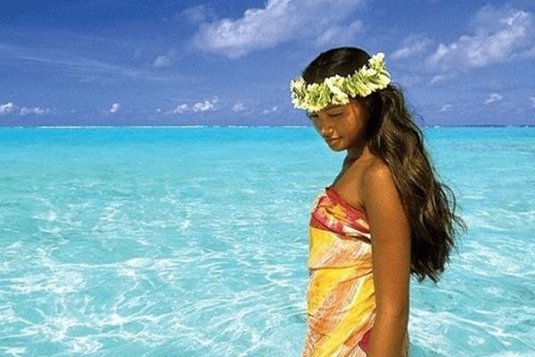 L'une des 9 photos préférées en 2015 sur le compte instagram de Tahiti Tourisme