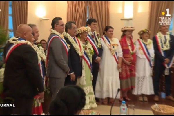 Municipales : les élus du 1er tour s'installent