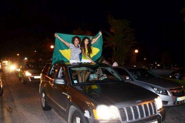 Supportrices du Brésil
