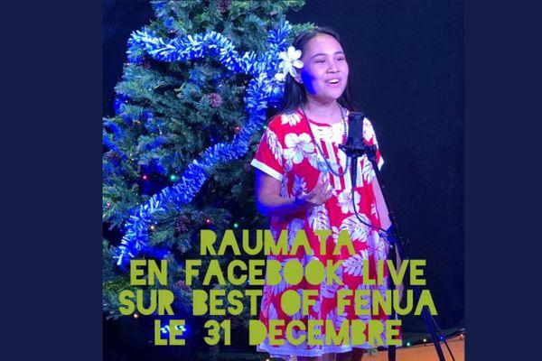 Réveillon en livestream avec Raumata Tetuanui