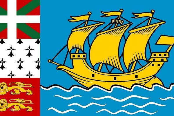 drapeau SPM