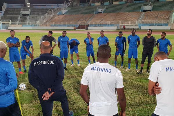 Sélection football Martinique