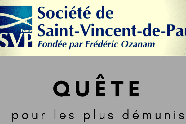Saint Vincent de Paul : quête