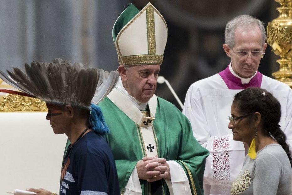 Exhortation apostolique post-synodale sur l'Amazonie : a priori, pas de prêtrise pour les hommes mariés - Outre-mer la 1ère
