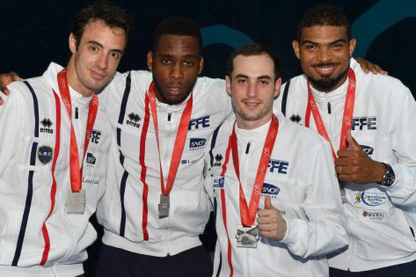 Equipe de France épée vice championne d'europe