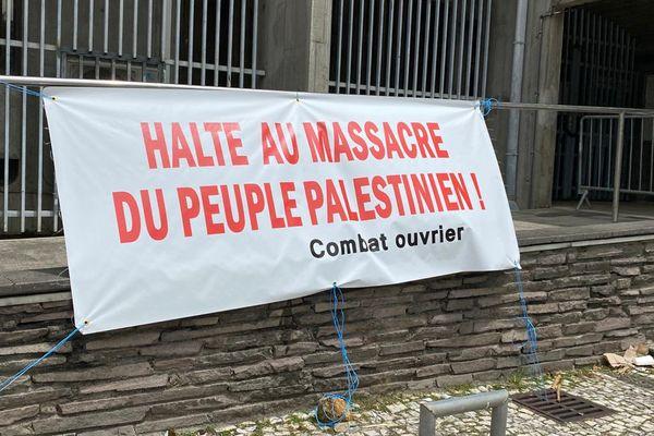 Manifestation pro-palestinienne
