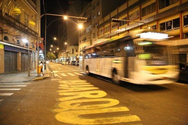 Brésil rues désertes