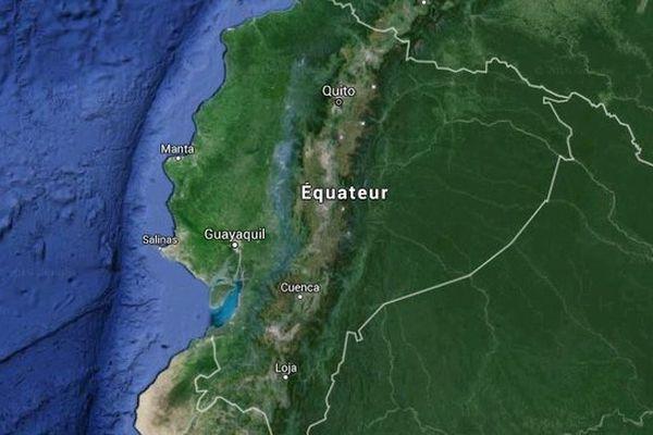 carte Equateur
